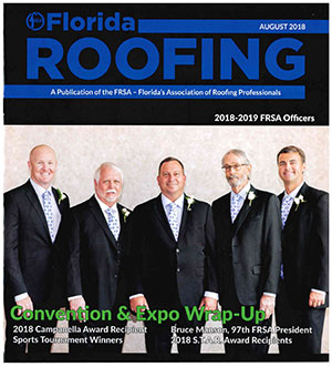 Florida Roofing Magazine Cover