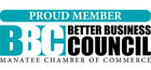 Proud Member of the Better Business Council